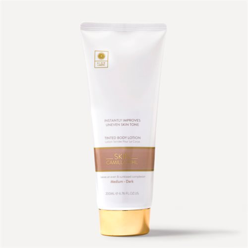 Skin Camilla Pihl Tinted bodylotion dark
