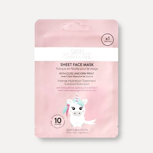 Skin Camilla Pihl Beauty Moisture Boost Unicorn Sheet Mask