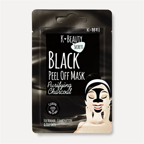 K Beauty Secrets Black Peel Off Mask