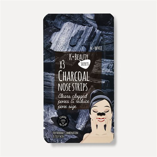 K Beauty Secrets Charcoal Nose Strips