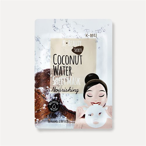 K Beauty Secrets Coco Water Sheet Mask