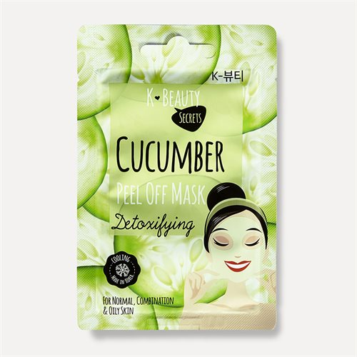 K Beauty Secrets Cucumber Peel Off Mask