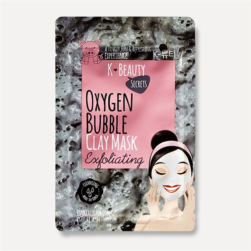 K Beauty Secrets Oxygen bubble Mask