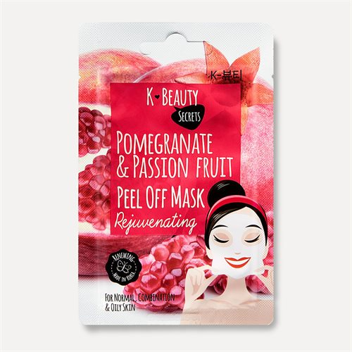 K Beauty Secrets Pomegranate & Passionfruit Peel Off Mask