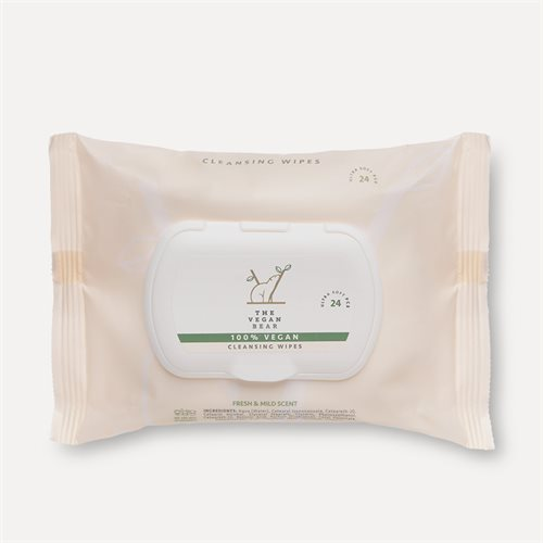 The Vegan Bear Cleansing Wipes